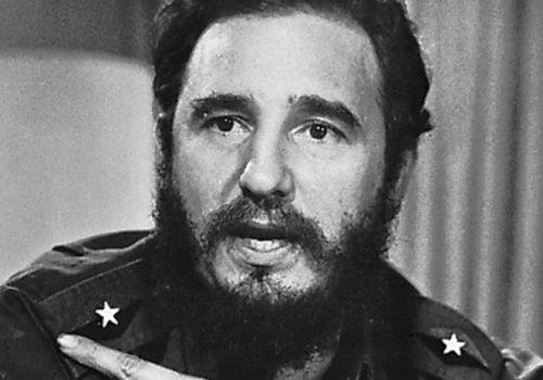 Disparition de Fidel Castro en 2016