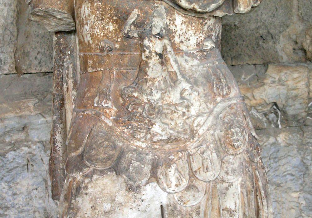 Statue de la personnification de l'Odyssée-Musée de l'Agora Antique d'Athènes